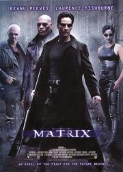The Matrix movie poster [Keanu Reeves, Laurence Fishburne] 27x39