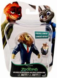 Zootopia: Mayor Lionheart & Lemming Businessman figures (Tomy) Disney