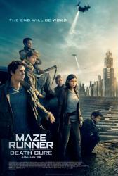 Maze Runner: The Death Cure movie poster (2018) 27x40 original