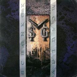 McAuley Schenker Group poster: M.S.G. vintage LP/Album flat