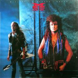 McAuley Schenker Group poster: Perfect Timing vintage LP/Album flat