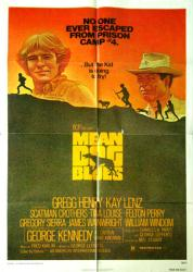 Mean Dog Blues movie poster [Gregg Henry/George Kennedy] 1978 original