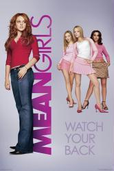 Mean Girls movie poster [Lindsay Lohan, Rachel McAdams] 24x36
