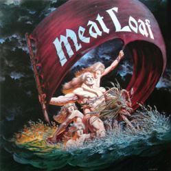Meat Loaf poster: Dead Ringer vintage LP/Album flat (1981)