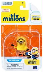 Minions: Medieval Minion poseable figure (Thinkway Toys)