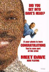 Meet Dave movie poster [Eddie Murphy] Now Playing