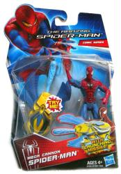 The Amazing Spider-Man: Mega Cannon Spider-Man figure (Hasbro/2012)
