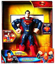 Man of Steel: 10'' Mega Punch Superman action figure (Mattel/2013)