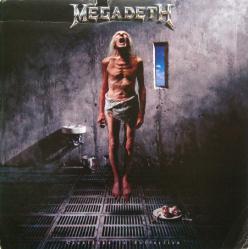Megadeth poster: Countdown to Extinction vintage LP/album flat