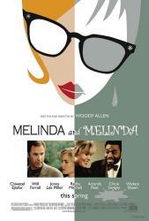 Melinda and Melinda movie poster [a Woody Allen film] 27x40 NM