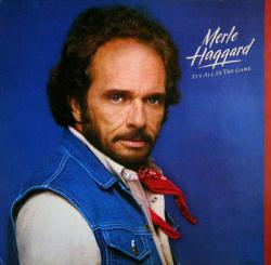Merle Haggard poster: It's All In the Game vintage LP/Album flat