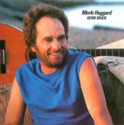 Merle Haggard poster: Kern River vintage LP/Album flat (1985)
