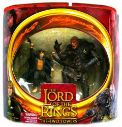 Lord of the Rings [The Two Towers] Merry & Grishnakh action figures