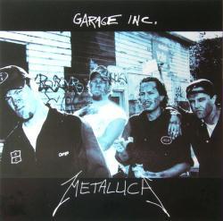 Metallica poster: Garage Inc. vintage LP/Album flat (1998)