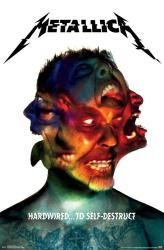 Metallica poster: Hardwired... to Self-Destruct (22x34) album art