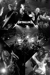 Metallica poster: Live (24x36) Heavy Metal