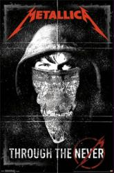 Metallica poster: Through the Never (22 1/2'' X 34'')