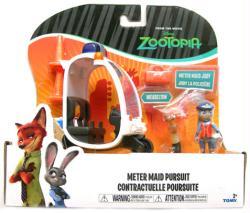 Zootopia: Meter Maid Pursuit vehicle & figure set (Tomy) Disney
