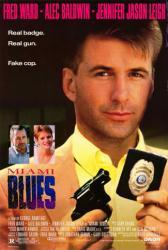 Miami Blues movie poster [Alec Baldwin, Jennifer Jason Leigh] 27x40