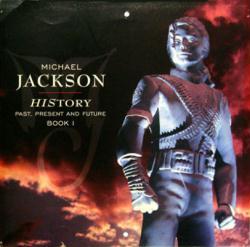 Michael Jackson poster: HIStory vintage LP/Album flat
