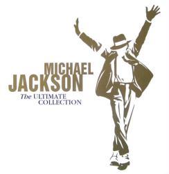 Michael Jackson poster: The Ultimate Collection vintage LP/Album flat