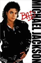 Michael Jackson poster: Bad (24x36) album cover art