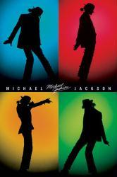 Michael Jackson poster: Silhouettes (24x36) New