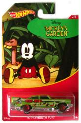 Hot Wheels: Mickey Mouse Mickey's Garden '57 Plymouth Fury die-cast