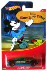 Hot Wheels: Mickey Mouse Brave Little Tailor Avant Garde 1:64 die-cast