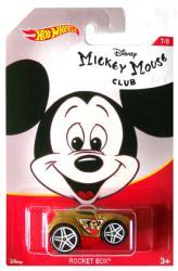 Hot Wheels: Mickey Mouse Club - Rocket Box 1:64 die-cast