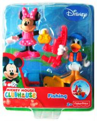 Mickey Mouse Clubhouse: Fishing Minnie & Donald figures (Fisher Price)
