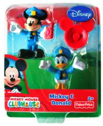 Mickey Mouse Clubhouse: Mickey & Donald figures (Fisher Price) Disney