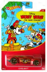 Hot Wheels: Mickey Mouse The Band Concert Covelight 1:64 die-cast
