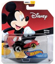 Hot Wheels Character Cars: Disney Mickey Mouse die-cast vehicle