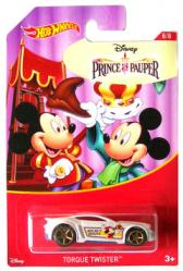 Hot Wheels: Mickey Mouse Prince & Pauper Torque Twister 1:64 die-cast