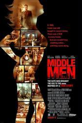 Middle Men movie poster [Luke Wilson, Giovanni Ribisi & James Caan]