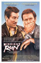 Midnight Run movie poster [Robert De Niro, Charles Grodin] 27 x 41