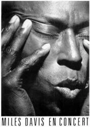 Miles Davis poster: Miles Davis En Concert (24 X 36) New