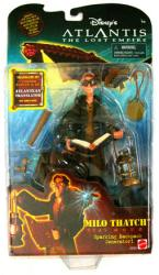 Atlantis: The Lost Empire [Disney] 6'' Milo Thatch figure (Mattel)