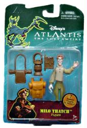 Atlantis: The Lost Empire (Disney) 4'' Milo Thatch figure (Mattel)