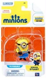 Minions: Minion Stuart poseable figure (Thinkway Toys)