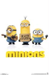 Minions movie poster (22x34) Stuart, Kevin & Bob