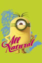 Minions movie poster: All Natural (24x36) Stuart