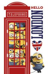 Minions movie poster: Hello London (24x36)