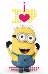 Minions movie poster: I Love Minions (24x36)