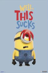 Minions movie poster: Well, This Sucks (24x36) New