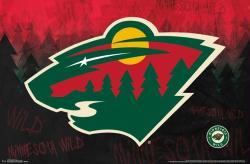Minnesota Wild poster: Logo (NHL) 34x22