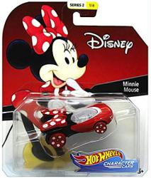 Hot Wheels Character Cars: Disney Minnie Mouse die-cast vehicle