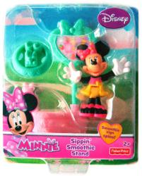 Minnie: Sippin' Smoothie Stand Minnie Mouse figure set (green tray)