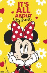 Minnie Mouse poster: It's All About Minnie [Disney] 22x34
